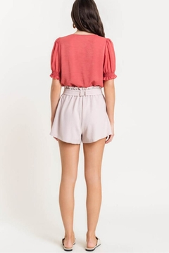 Lush Paperbag Shorts, Violet - Alternate List Image