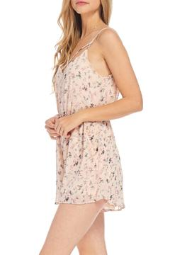 Lush Pink Floral Romper - Product List Image