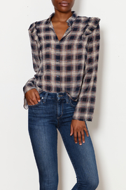 Lush Plaid Button Down - Product Mini Image