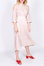 Lush Pleated Midi Dress - Product Mini Image