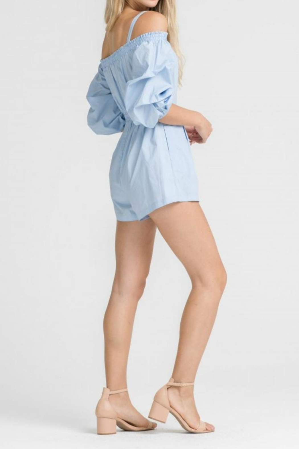 1881e53ffb00b Lush Poplin Romper from Tennessee by Threads — Shoptiques