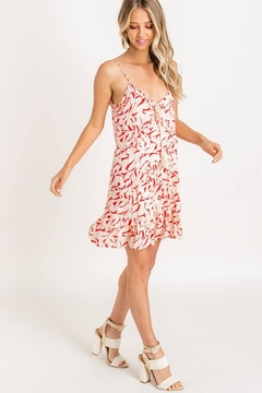 Lush Print Mini Dress - Alternate List Image