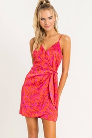 Lush Printed Wrap Mini - Front cropped