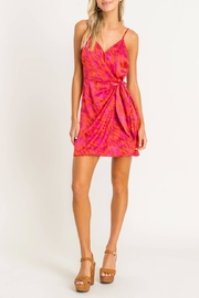 Lush Printed Wrap Mini - Front full body