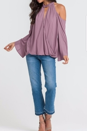 Lush Romantic Flow Top - Front cropped