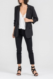 Lush Ruched Sleeve Blazer - Product Mini Image