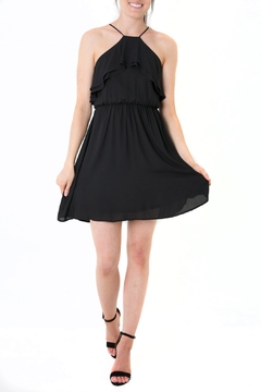 Shoptiques Product: Ruffle Racerback Dress