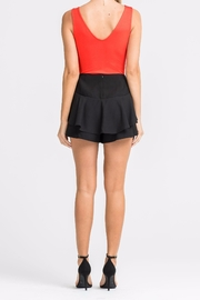Lush Ruffle Skort - Side cropped