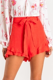 Lush Ruffle Some Feathers Shorts - Other