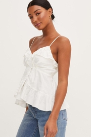 Lush Ruffle Tank Top - Side cropped