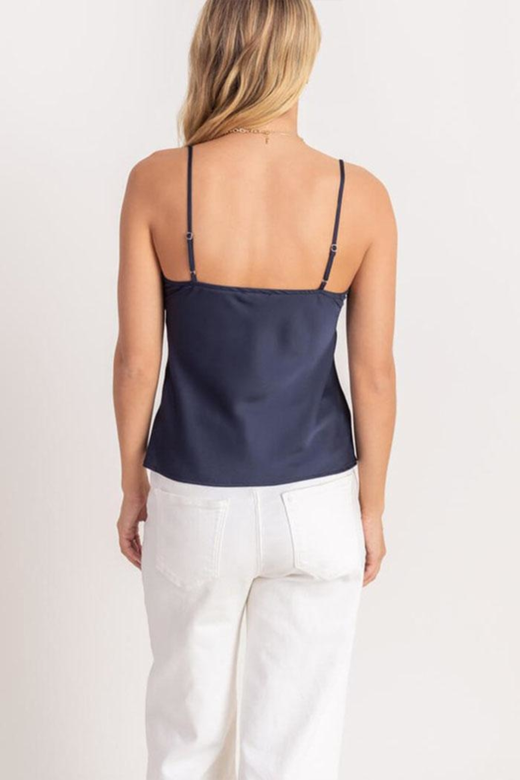 Lush Satin Cami Top - Side Cropped Image