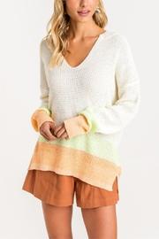 Lush Sherbert Dreams Sweater - Front cropped