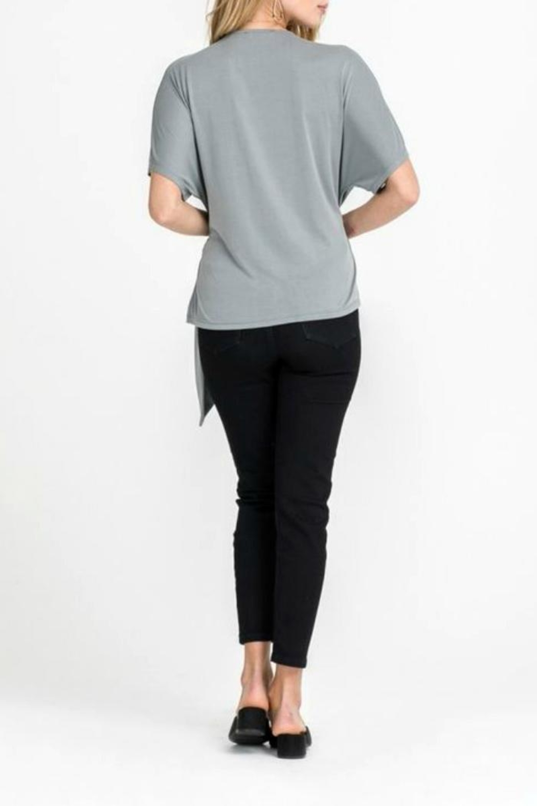 Lush Side Knot Top - Side Cropped Image