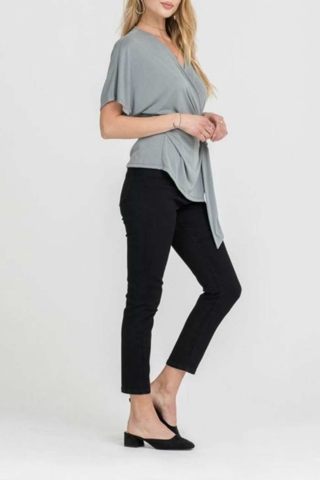 Lush Side Knot Top - Front Full Image