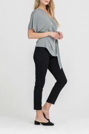 Lush Side Knot Top - Front full body