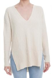 Lush Side Slit Sweater - Product Mini Image