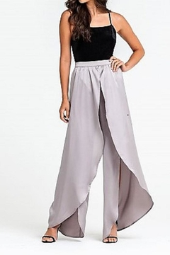 Shoptiques Product: Silver Satin Pants
