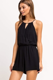 Lush Sleeveless Flowy Romper - Product Mini Image