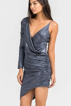 Shoptiques Product: Slinky Oneshoulder Dress