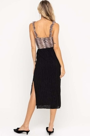 Lush Slit Midi Skirt - Front full body