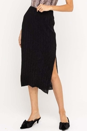 Lush Slit Midi Skirt - Product Mini Image