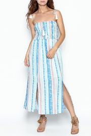 Lush Smock Tie Dress - Front cropped