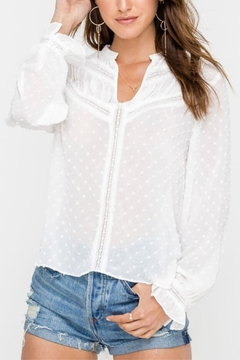 Lush Snow Fall Blouse - Product List Image