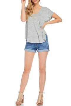 Shoptiques Product: Soft Grey Tee