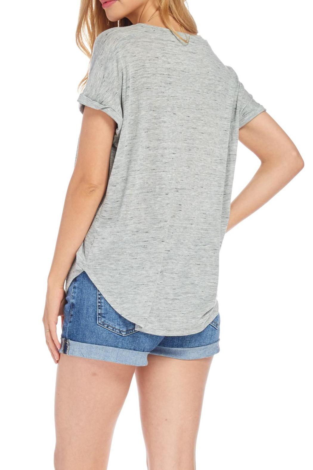 Lush Soft Grey Tee From Nebraska By Apricot Lane Omaha