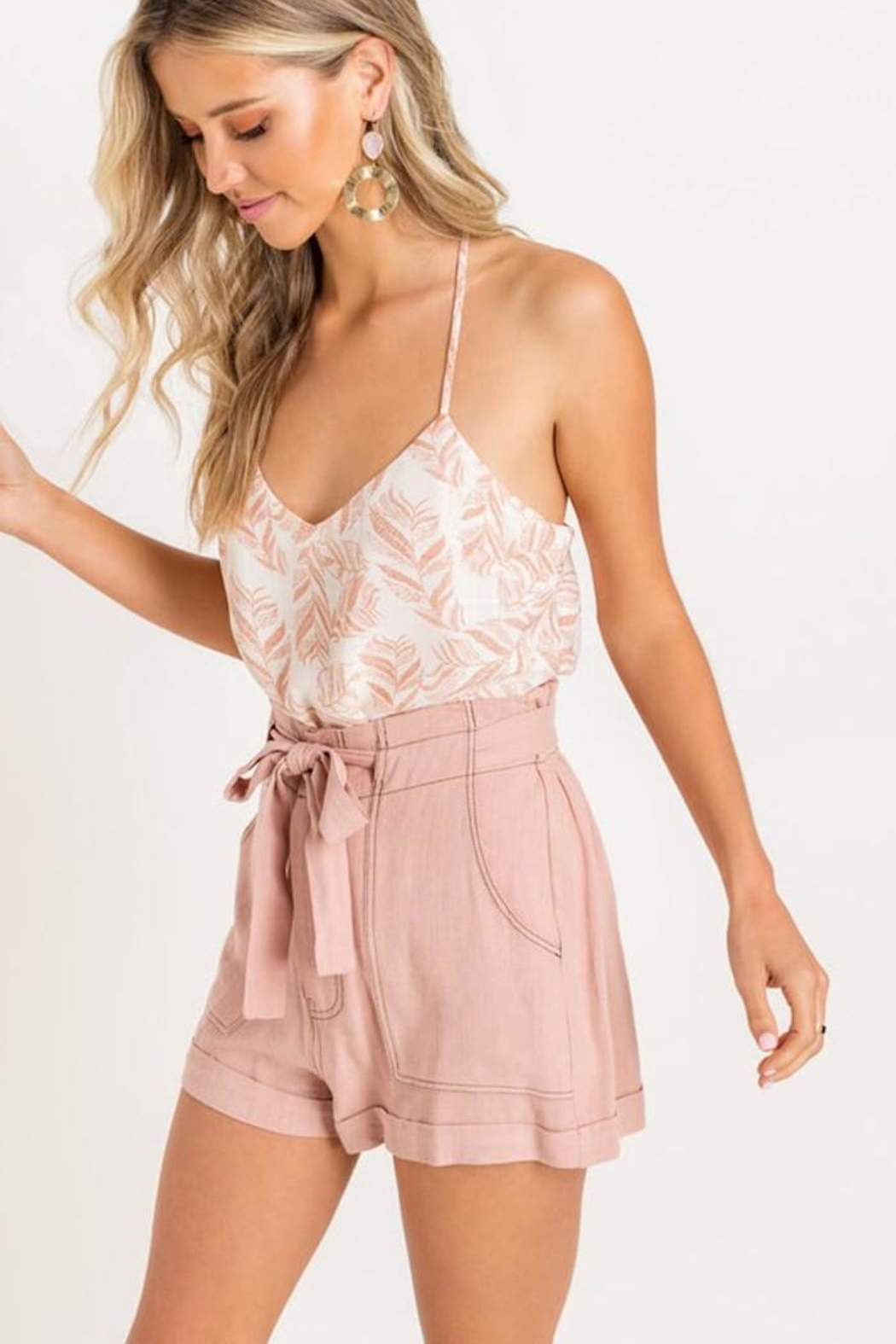 Lush Soft Touch Cami - Side Cropped Image
