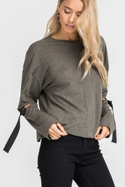 Lush Strap Sleeve Blouse - Product Mini Image
