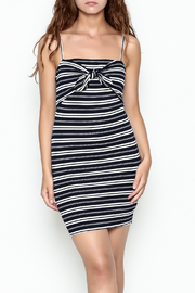 Lush Stripe Tie Dress - Side cropped