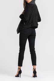 Lush Faux Suede Jacket - Side cropped