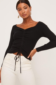 Lush Sweetheart Neckline Top - Product List Image
