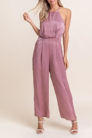 Lush Tie Back Jumpsuit - Front cropped