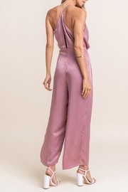 Lush Tie Back Jumpsuit - Front full body