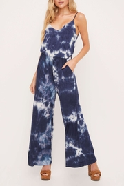 Lush Tie Dye Jumpsuit - Front cropped