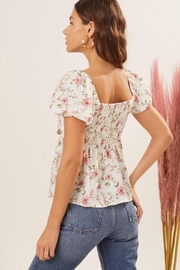 Lush Tie Front Top - Side cropped