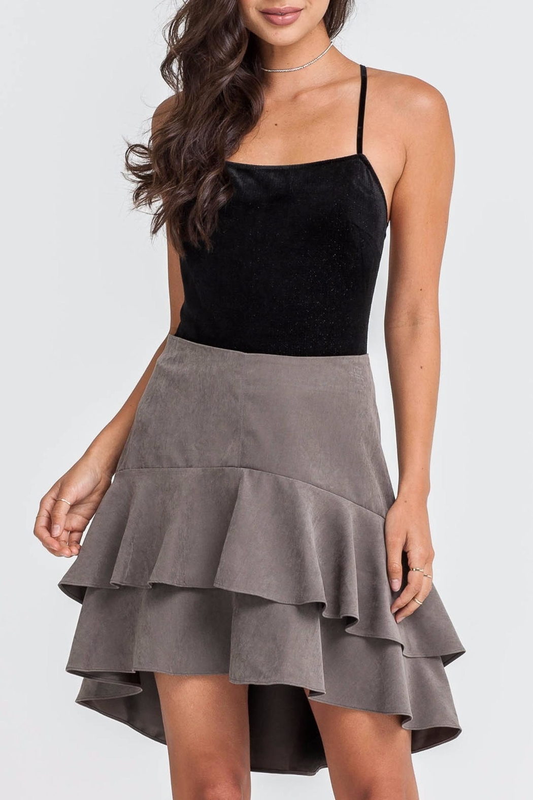 Lush Tiered Skirt - Main Image