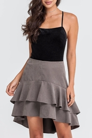 Lush Tiered Skirt - Front cropped
