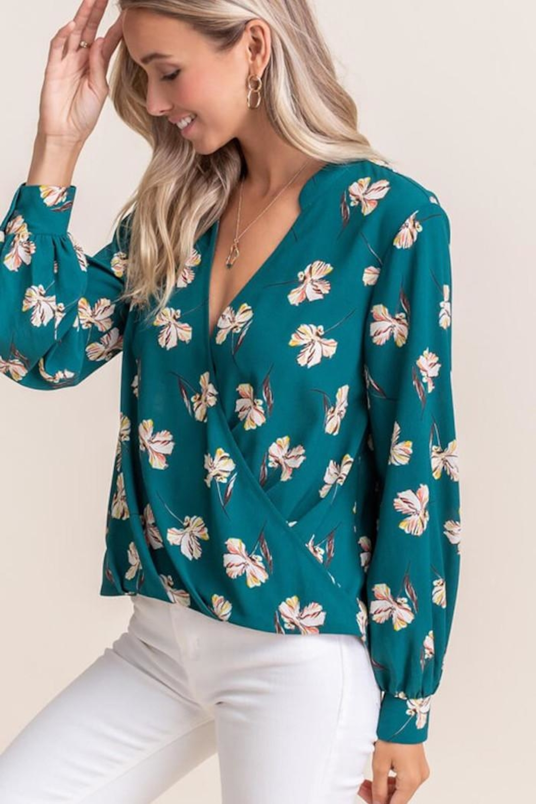 Lush Touch Of Floral - Front Full Image