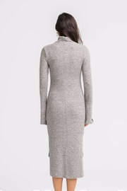 Lush Turtle Neck Sheath Dress - Back cropped