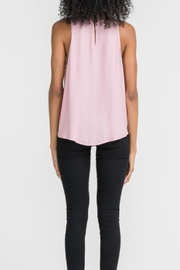 Lush Twist Neck Overlay Top - Side cropped