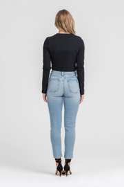 Lush Twisted Crop Top - Front full body