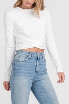 Shoptiques Product: Twisted Crop Top