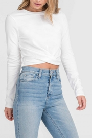 Lush Twisted Crop Top - Product Mini Image