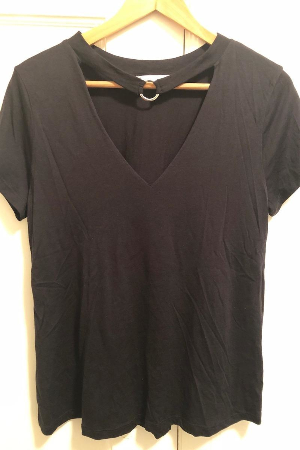 Lush V-Neck Top - Front Cropped Image
