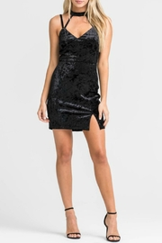 Lush Velvet Cage Dress - Product Mini Image