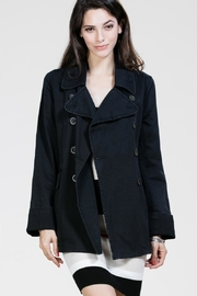 Lush Vicky Black Coat - Product Mini Image