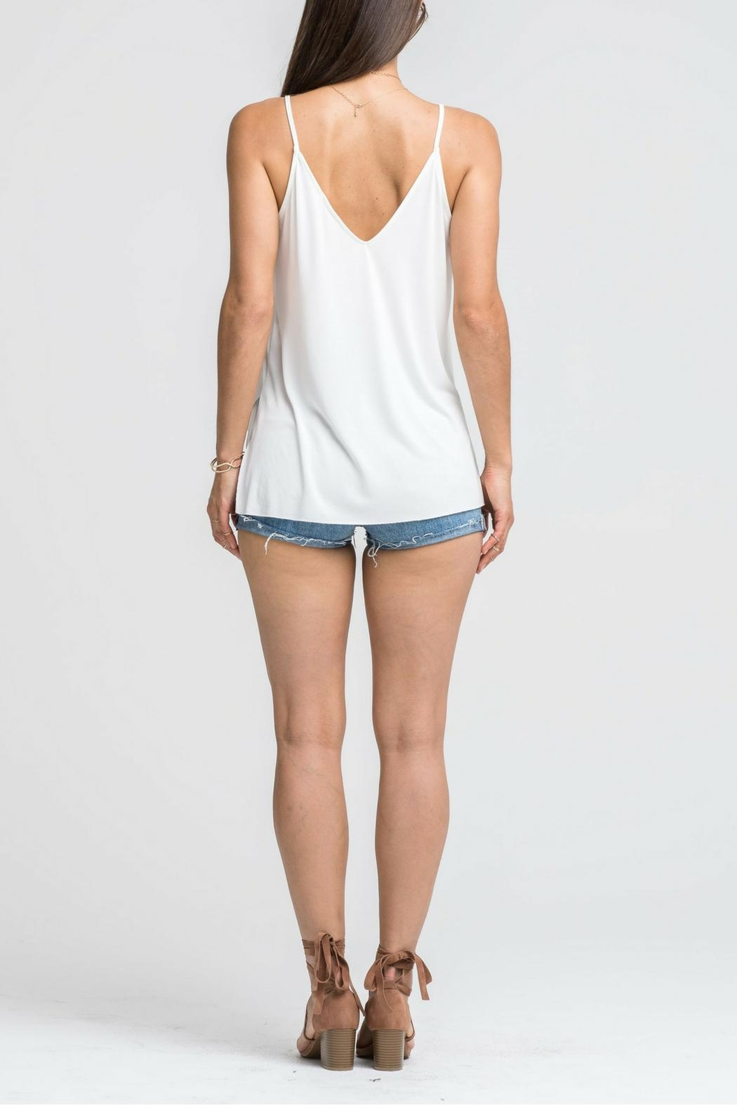 Lush White Cami Top - Side Cropped Image